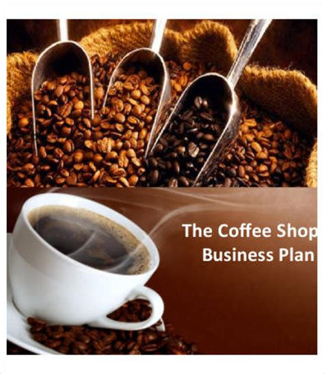 A Sample Coffee Shop Marketing Plan Template